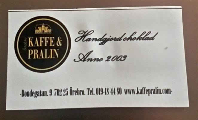 kaffepralin