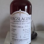 Bergslagens Private Cask (nr 202), Peated Sherry 60%